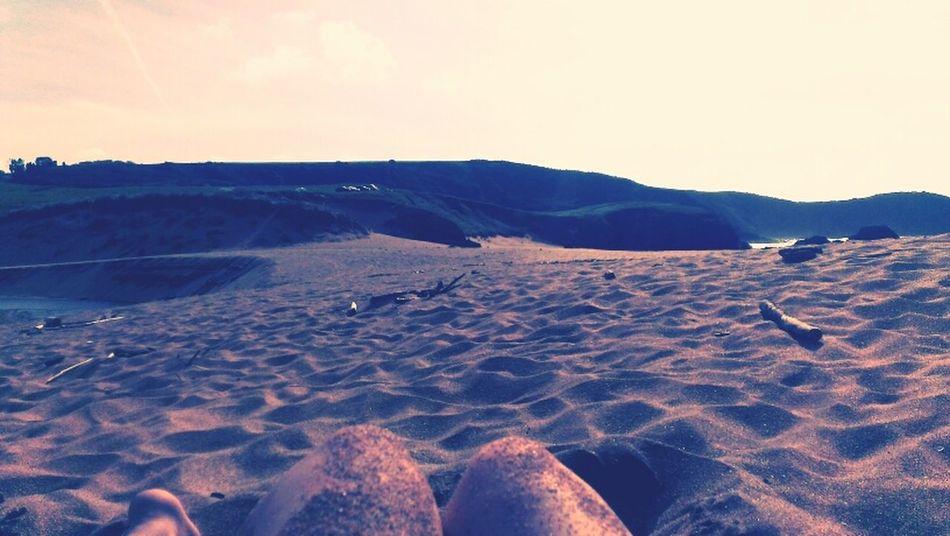 Chilling Beach Landscape Memories
