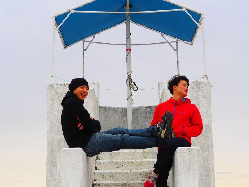 Friends Boys at 日間賀島