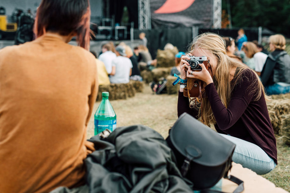 Beautiful stock photos of friends, Bonding, Camera - Photographic Equipment, Day, Friendship
