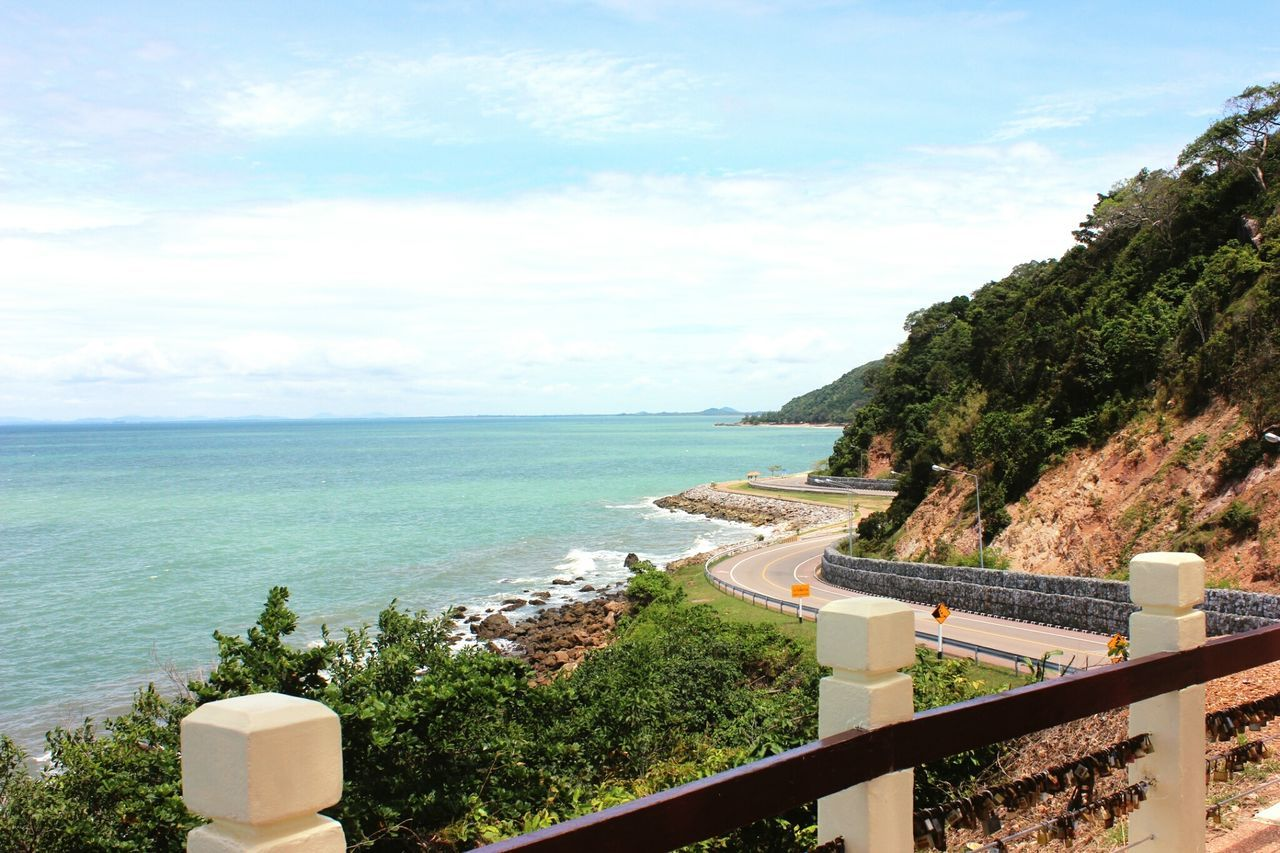 Beautiful Route and Fresh Air Noen Nangphaya Janthaburi