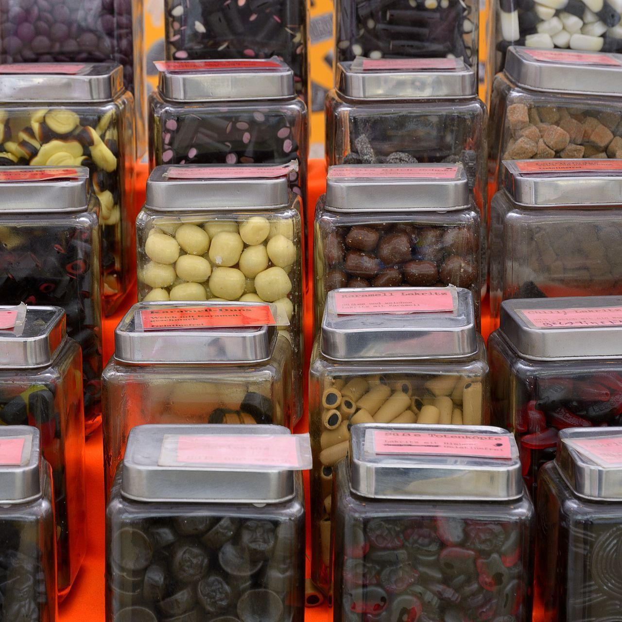 Dutch Licorice Food Food And Drink For Sale Licorice Market Market Stall No People Retail
