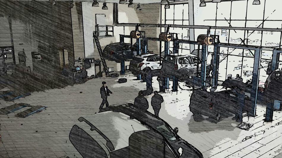 Ретро автосалон Барнаул-Моторс Автосалон