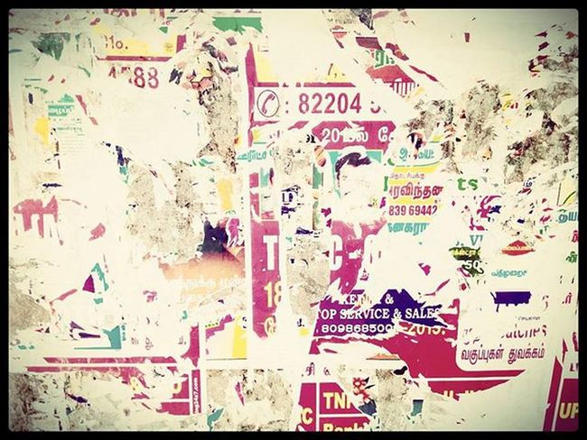 Tn tags...Its kinda Poster 😉 only seems Bus stop.
