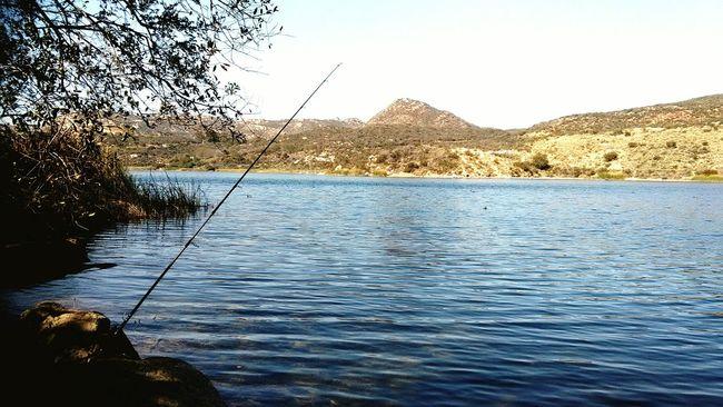 Fishing Lake View Lakeside Nature Photography San Diego Here Fishy Fishy Fishing Pole Relaxing