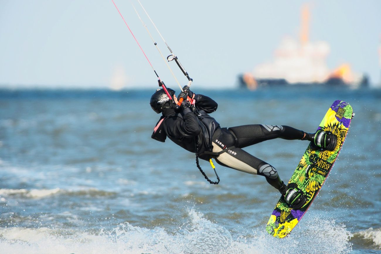 Kitesurfing in Cuxhaven - Döse First Eyeem Photo