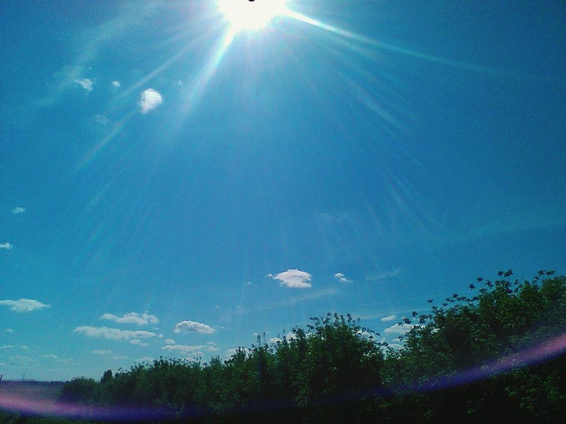 Nice Day Sun ☀ Sky