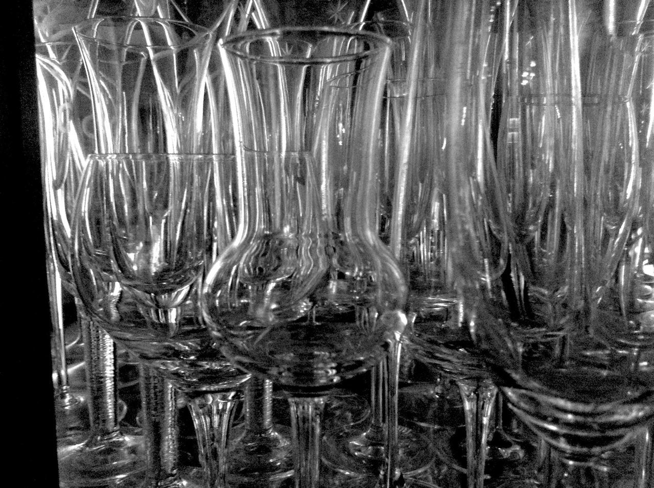Glasses Waiting For The Guests?