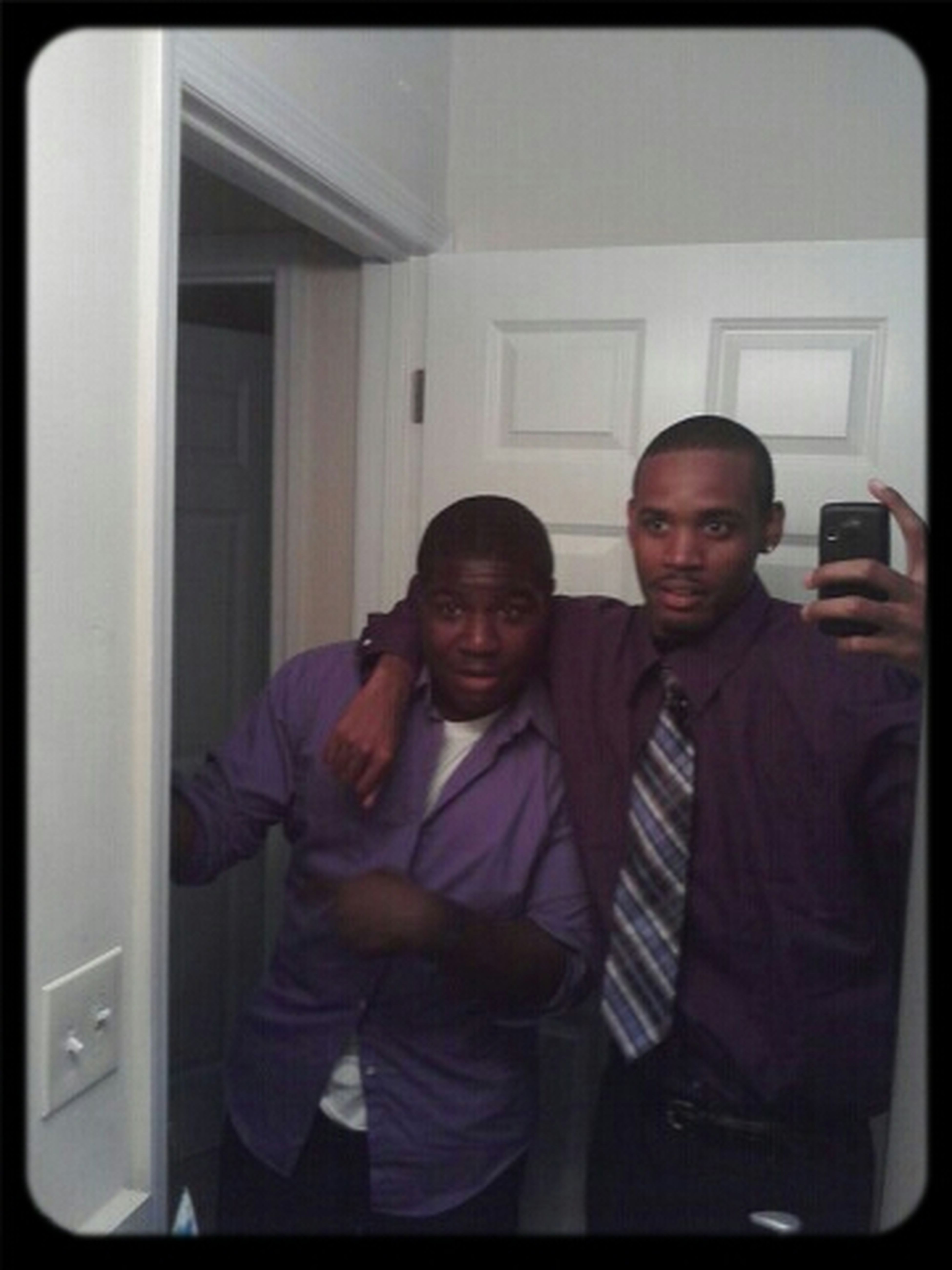 Me & Big Bruh After Church