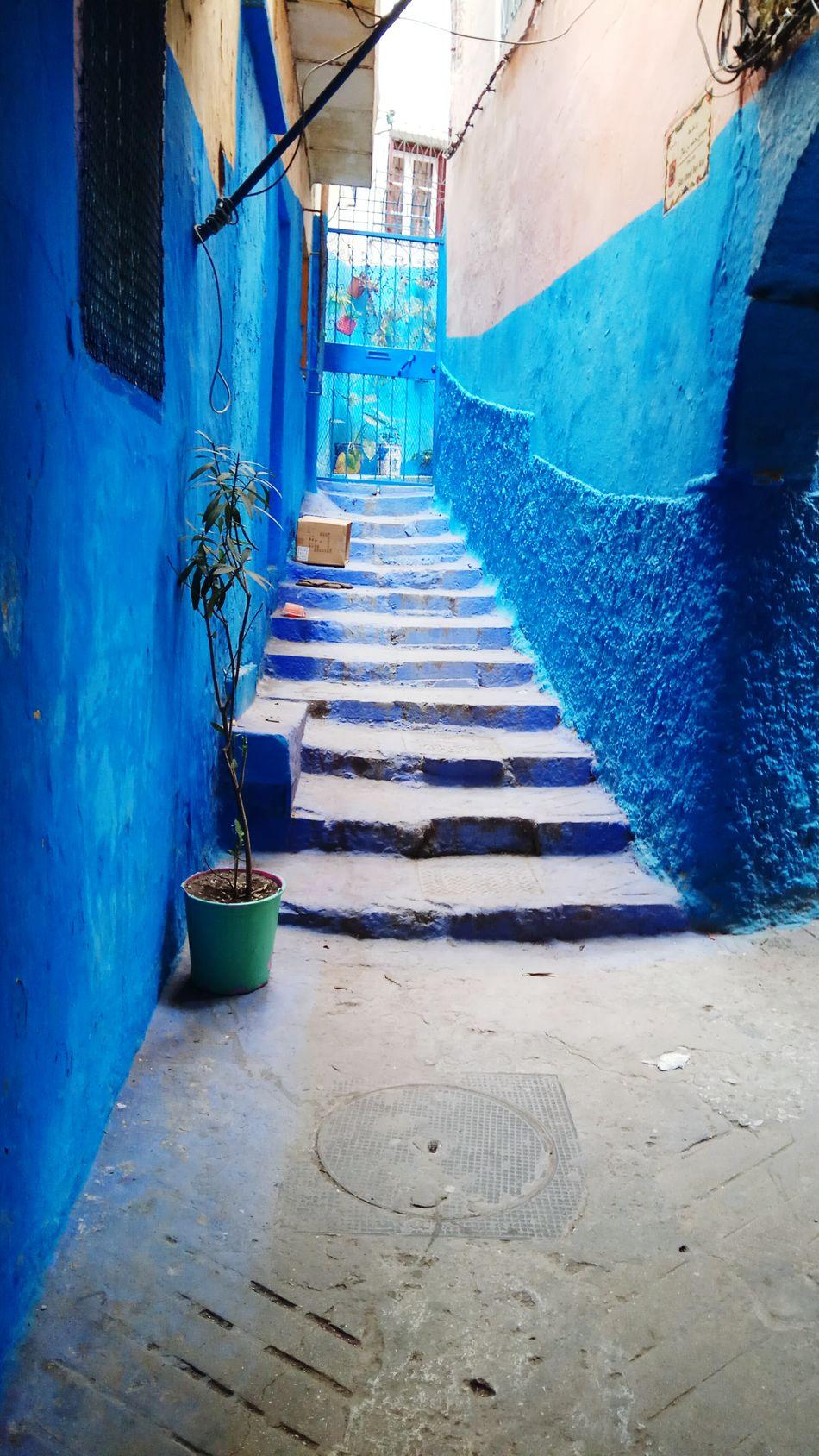 Tanger  Escaleras Azul First Eyeem Photo Art Is Everywhere