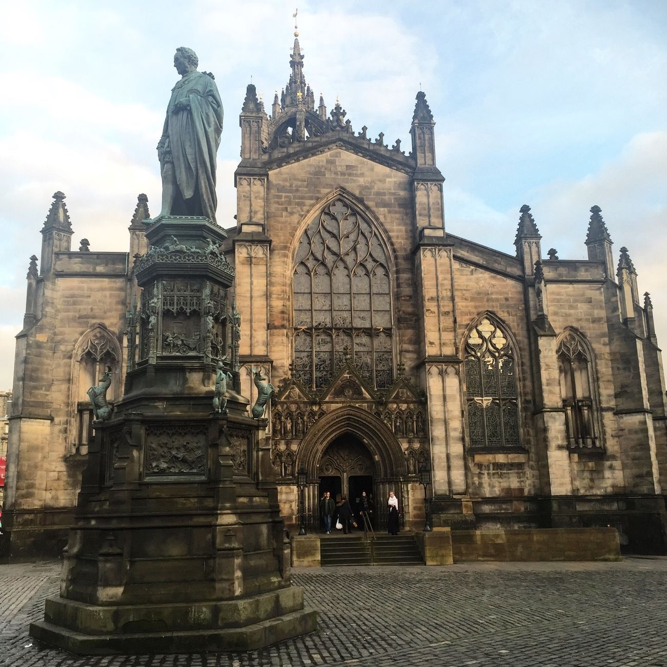 Edinburgh Sightseeing Scotland Edinburgh Catherdral Building 2daytrip Capital