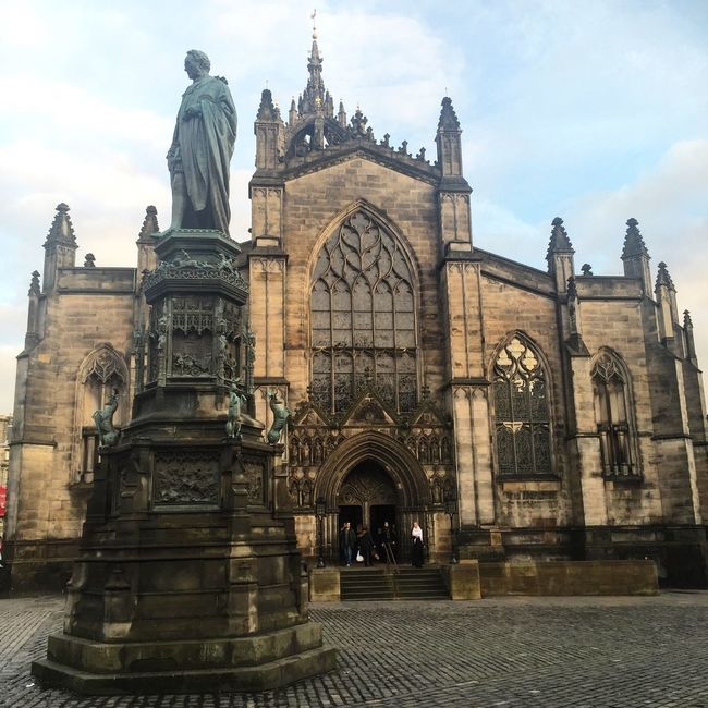 Edinburgh Sightseeing Scotland Edinburgh Catherdral Building 2daytrip Capital