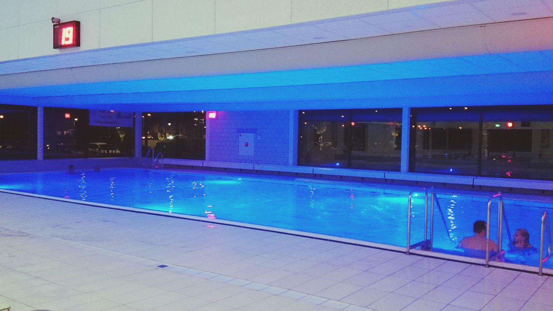 Feeling Blue at the Laço Swimming Pool