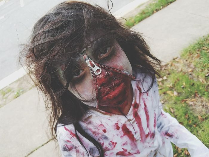 Scary girl Halloween2016 Youngsister Zombie