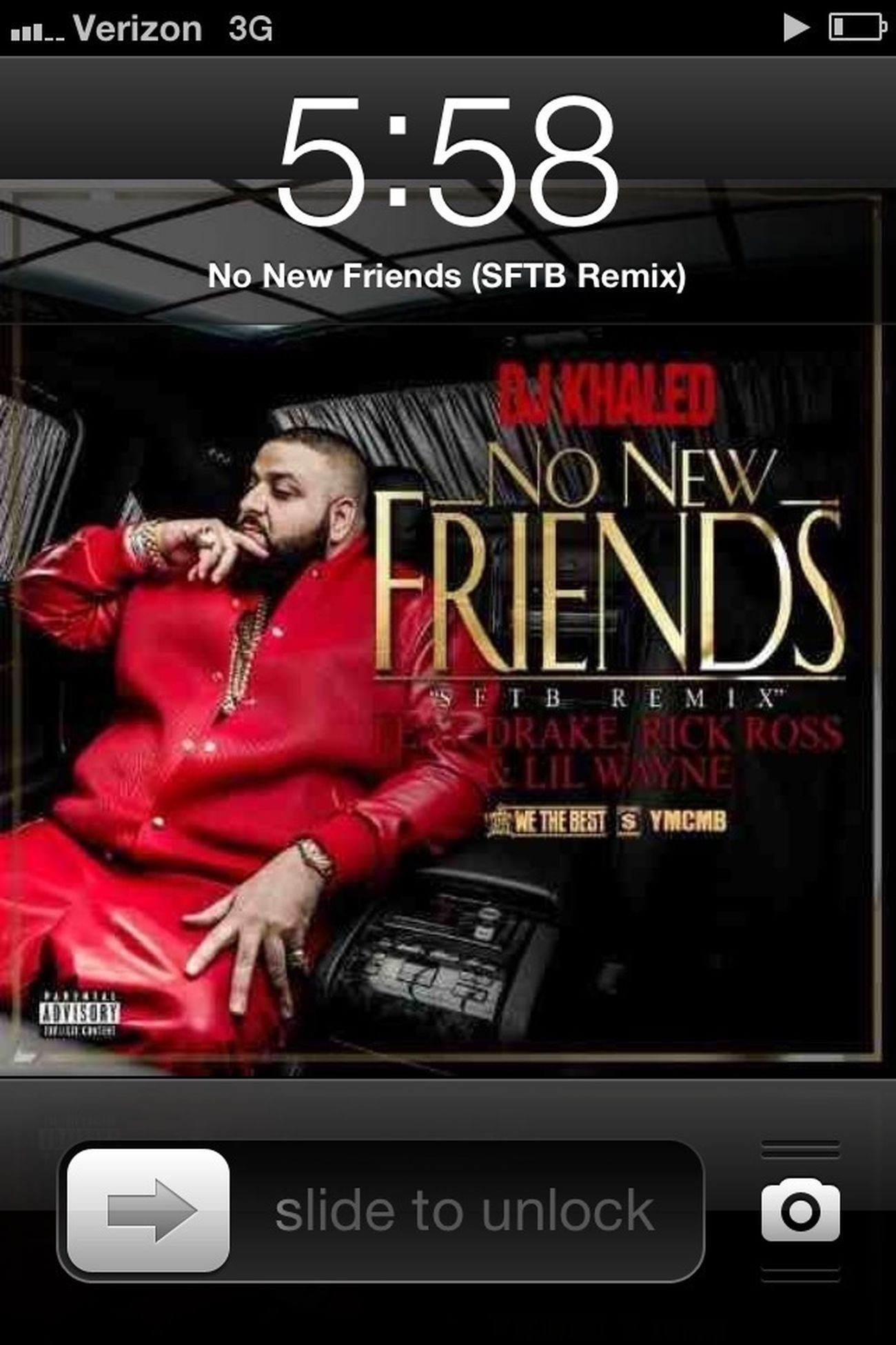 If you never heard me call you a friend then you AINT ONE ...
