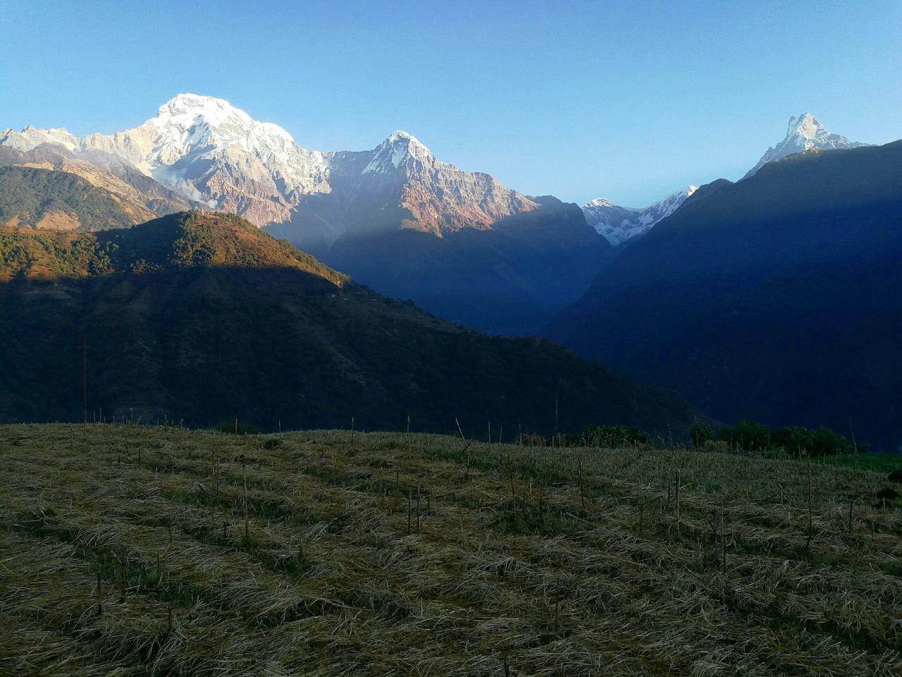 Beautiful stock photos of annapurna,  Beauty In Nature,  Cold Temperature,  Horizontal Image,  Idyllic