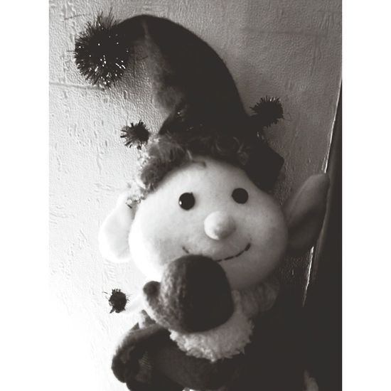 Black And White Fluffy Stuff Toy Store Decor