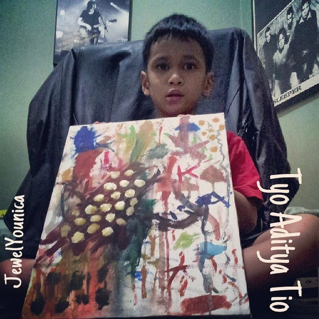My Talented Son Painted this New Painting called Cockroaches In The Abstract 😊 Love You My Lovely Son ❤️😉 Art ArtWork Drawing Paint Painting Painter Abstract Abstractart Abstractpainting WorkOfArt Followart Kidsartist Kidsartists Kids Young Artist Artists Youngartist Youngartists Love Myson Lovemyson Instaart Instaartist ♥