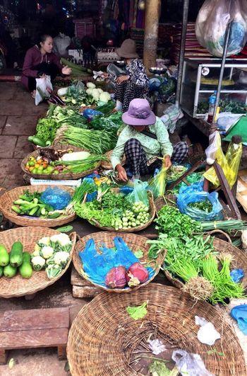 Market Vegetable Kambodia