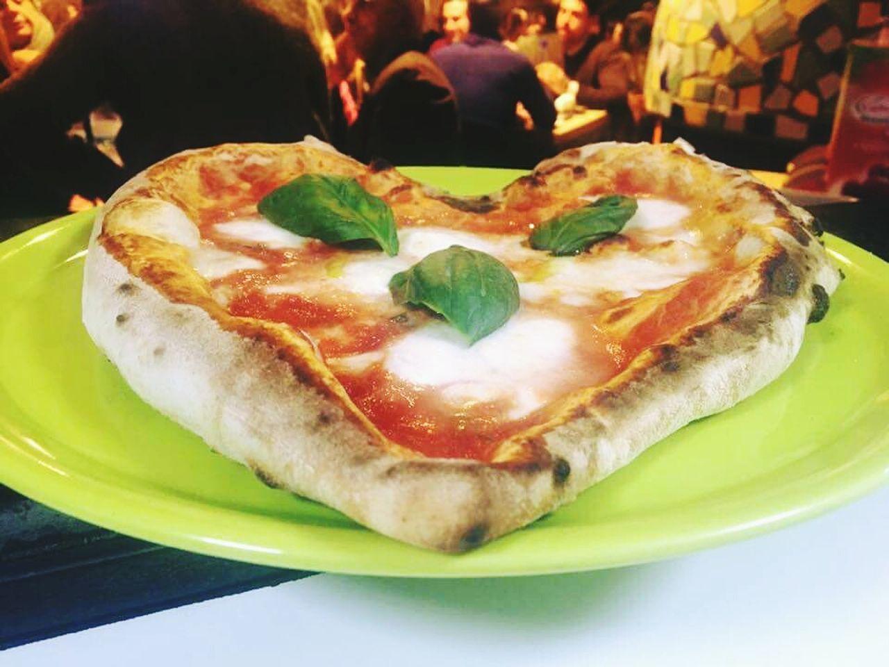 Happy S.valentine Food And Drink Eyeem Food  Food Porn Italia Foodart Onelove♥ IlovePIZZA Pizza Italian Food No People Day