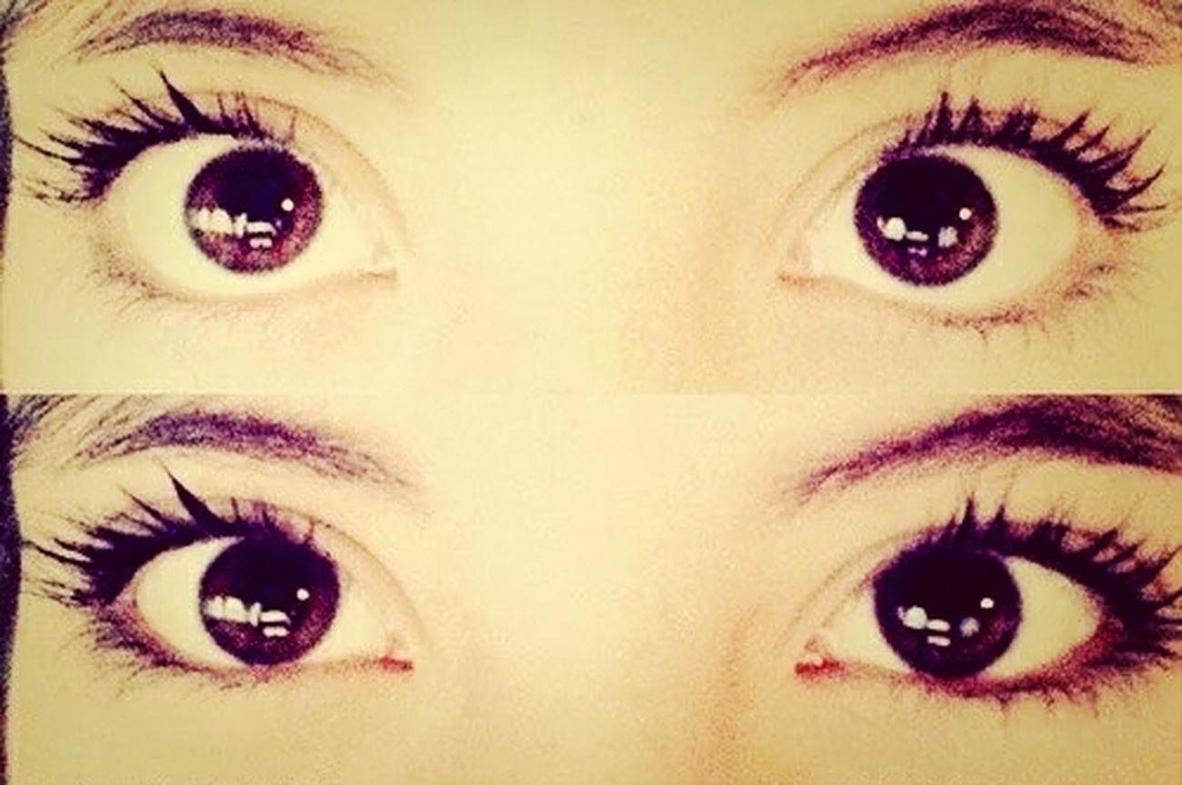 Mi Eyes<3 Though(; Instalookingme *-* Openyoureyes :33