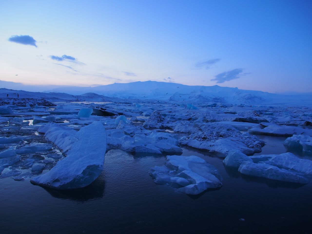 Nature Beauty In Nature Cold Temperature Tranquil Scene Scenics Iceland Blue Water Frozen Winter Idyllic Ice Sky Non-urban Scene No People Outdoors Iceberg Melting Snow Day