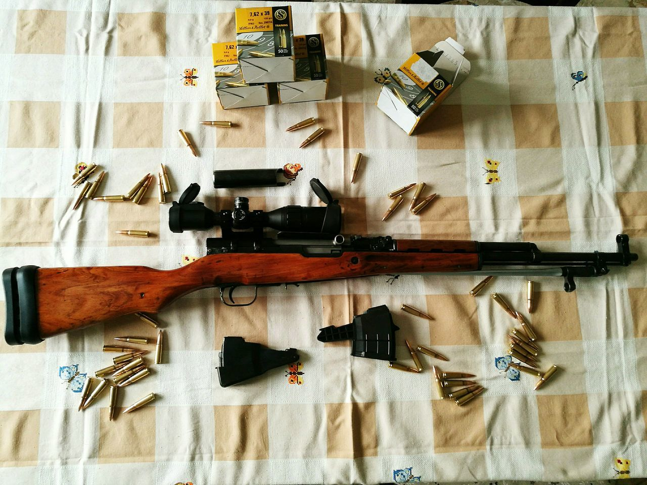 Collection Hobbies No People Gun Lifestyles Langbart Rifle Ex Ordinanza Sks