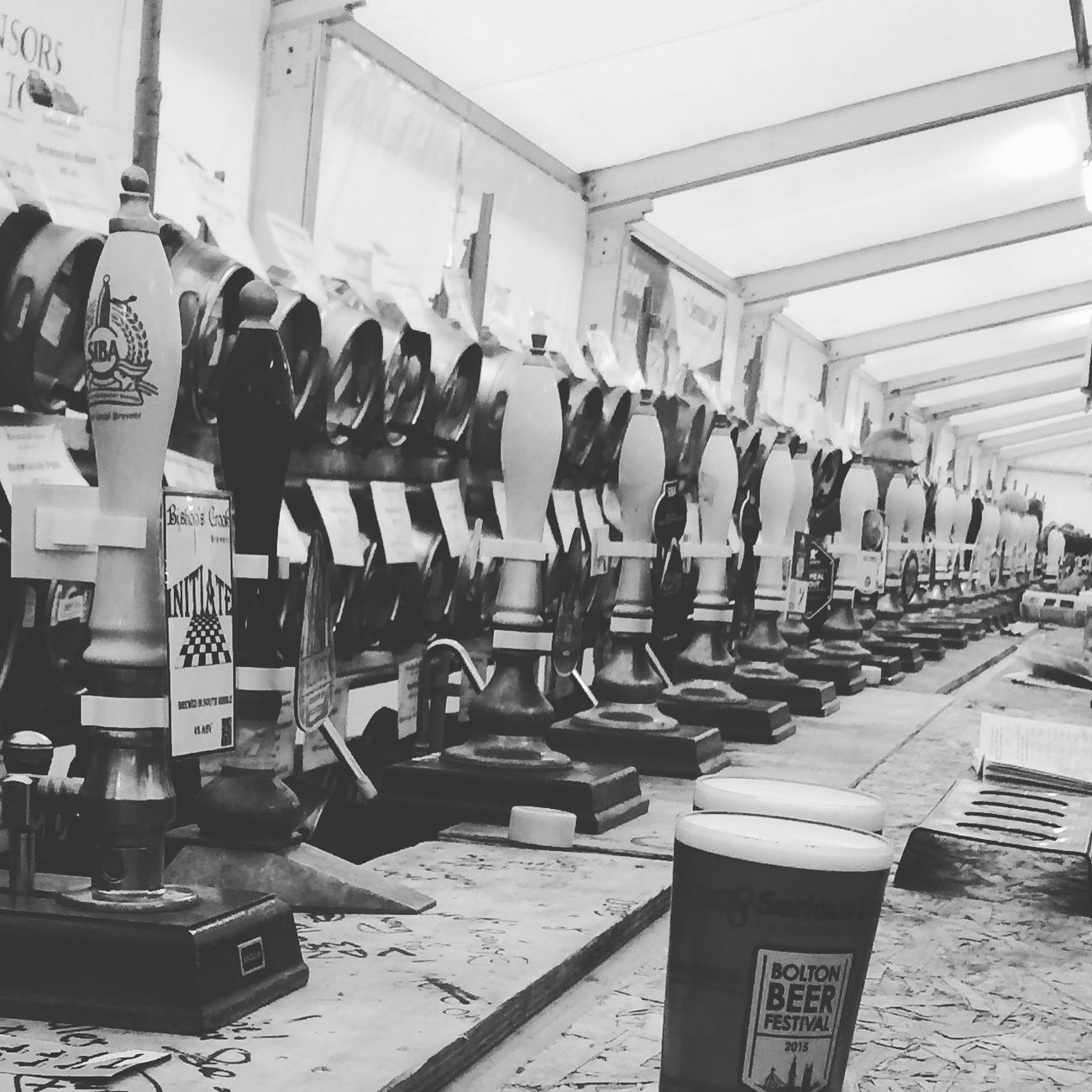 Love this picture of the Bolton Beer Festival 2015. I took this whilst my pint was being pulled. Beer Beers Beersnob Bolton Ale Realale