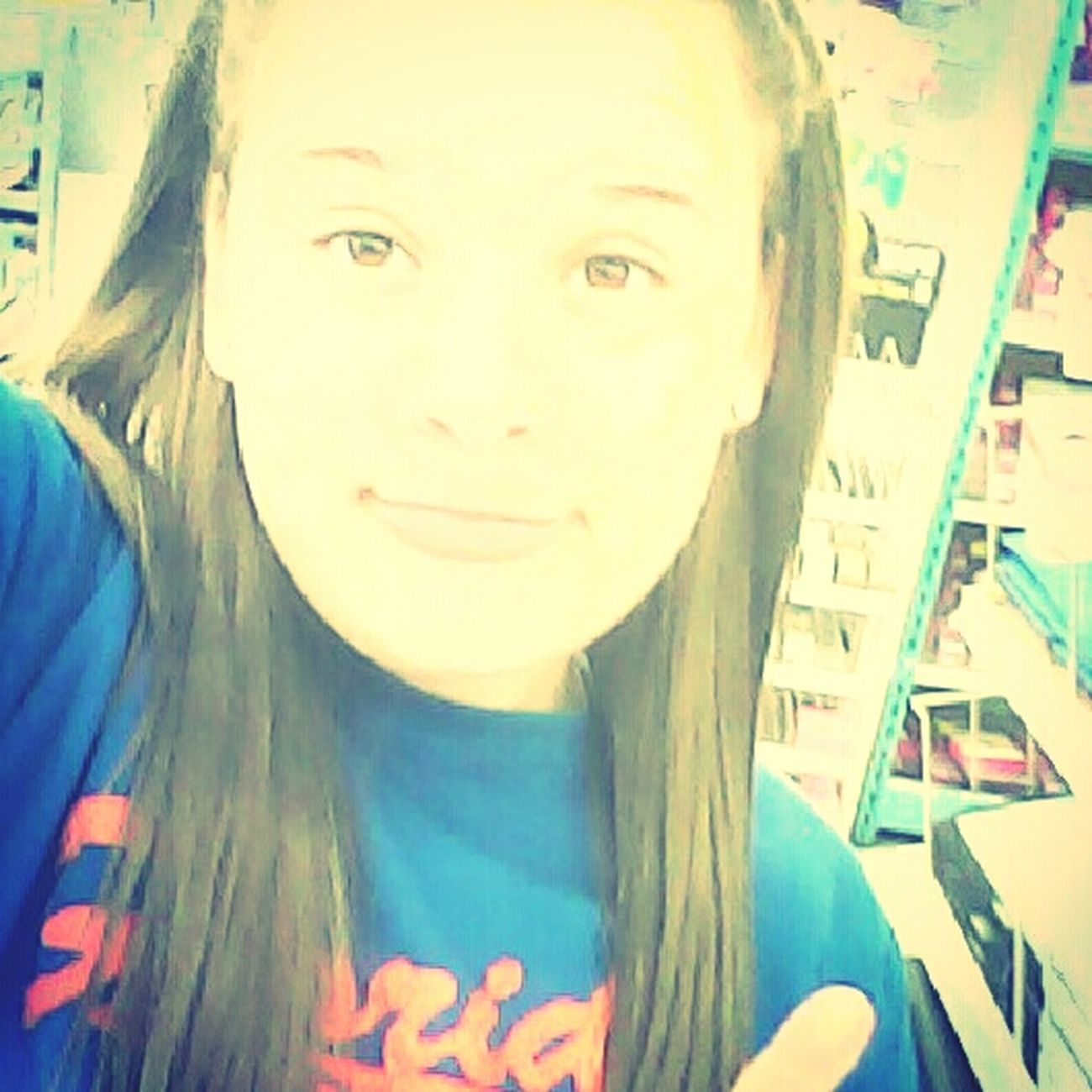 Me Being Stupid In The Store. :)