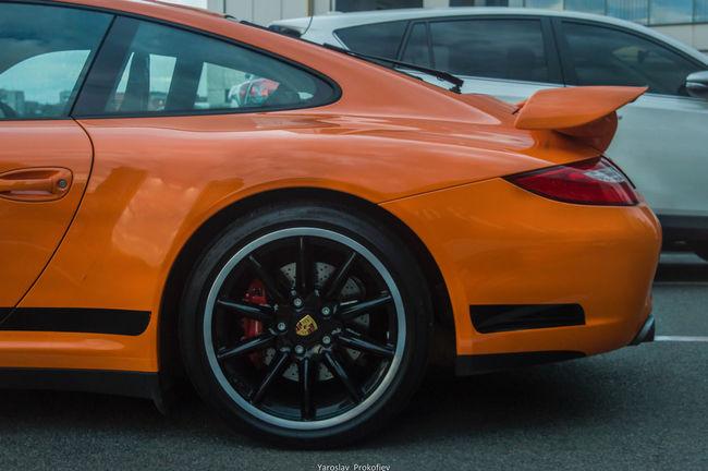 Car Nikon Photography Photo Germany Porche 911 Carrera Orange Color Dnipropetrovsk Dnepr Ukraine