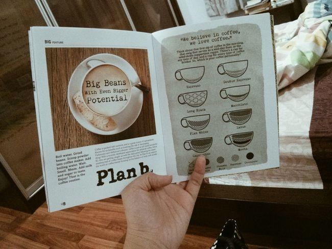 Plan B's brochure VSCO Coffee Nice Design