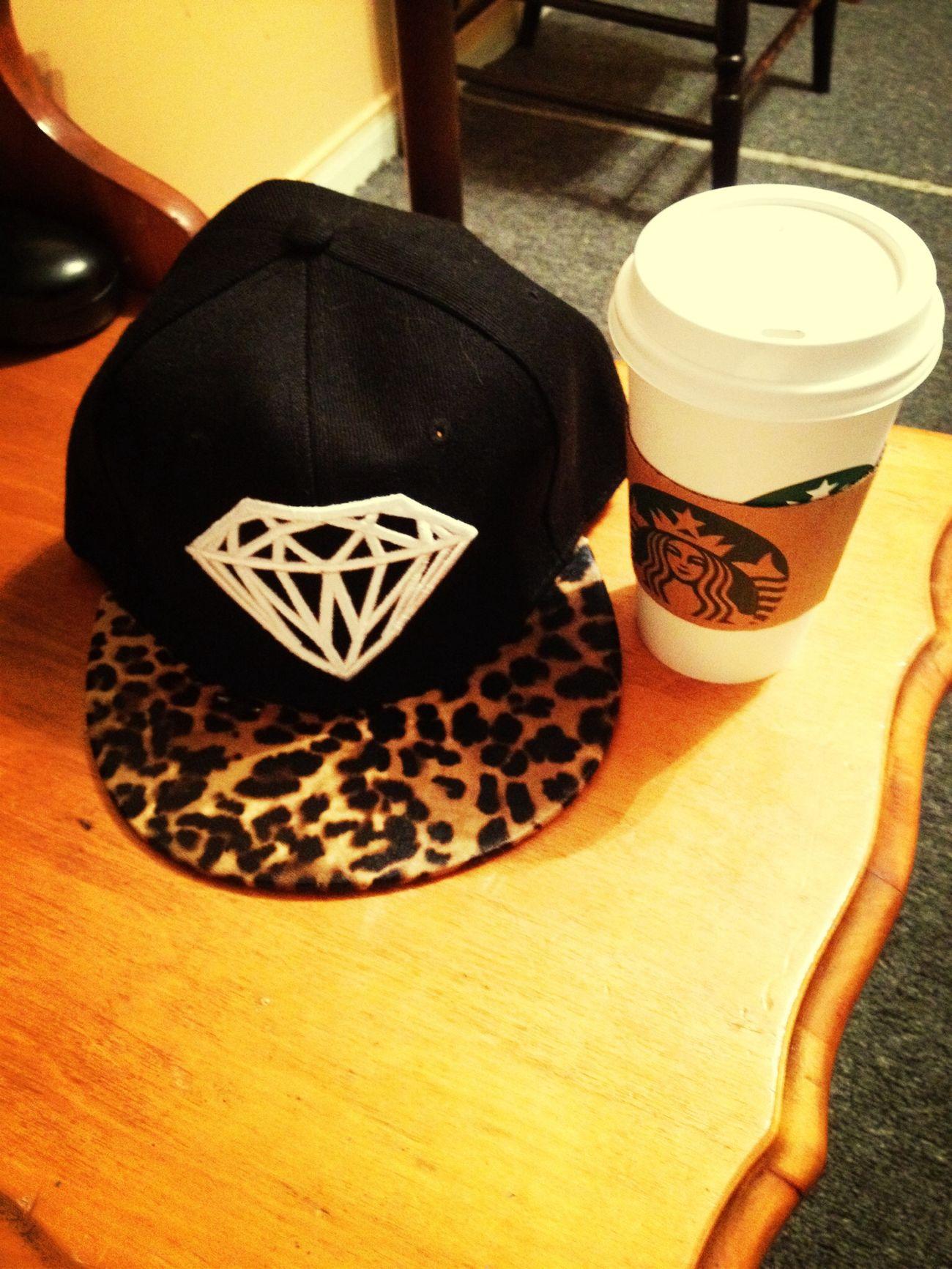 Whitegirlstarbucks Diamond&cheetahprinthat Whitegirlswagg Thatswhatsup  ❤️