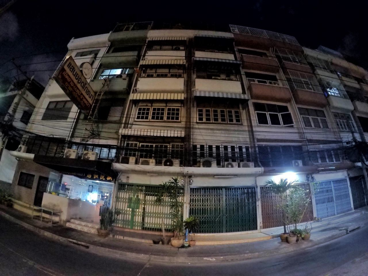 Architecture Building Exterior Built Structure City Night Illuminated Outdoors No People Streetphotography Bangkok City Now Thailand Photos Poor  GoPrography Architecture Streetphoto_bw Poorly