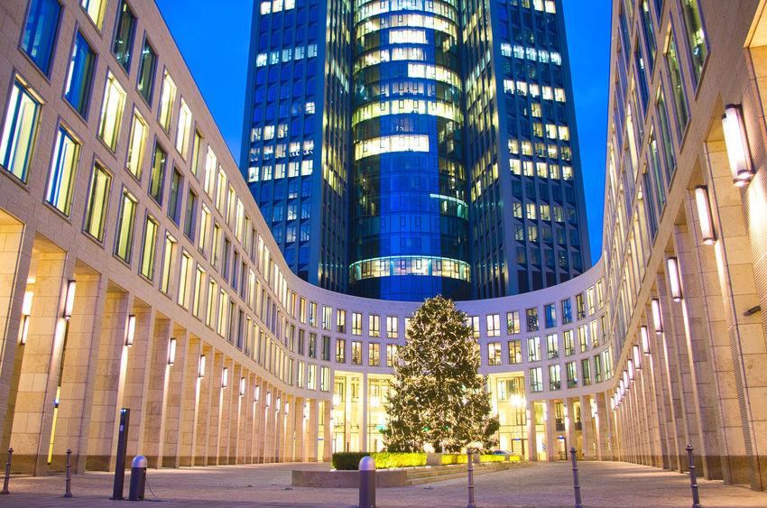 Architecture Büro Deutschland Frankfurt Am Main Messe Weihnachten Hessen Tower