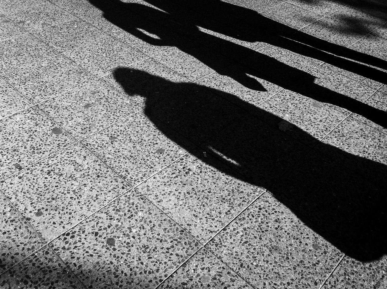shadow, sunlight, focus on shadow, real people, day, outdoors, low section, nature