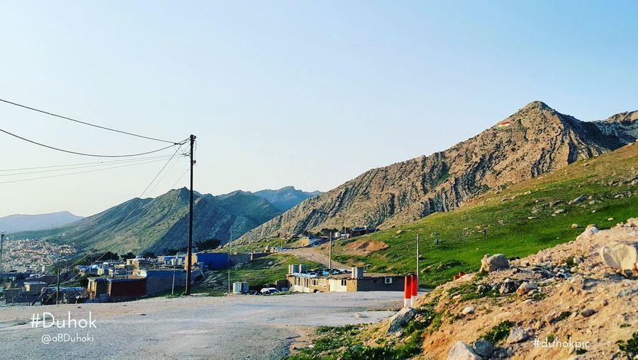 Duhok Kuridstan Photo By  ABDuhoki Nice Day EyeEm Kurd Kurdish Peshmerge Sky Flag Best Shots