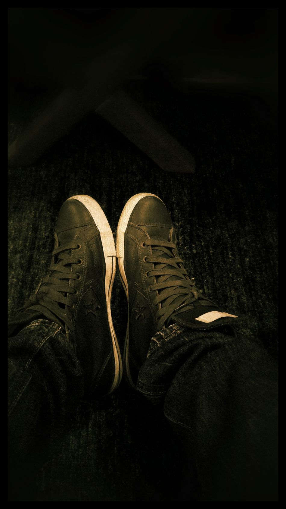 Shadow Shoe All Star All Star Shoes Leather Light Mans Two Pair Foot