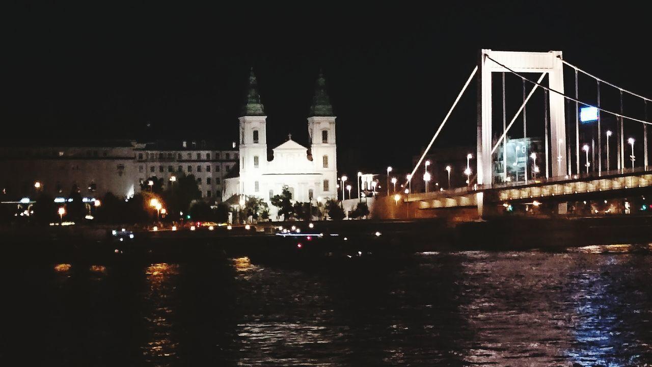Nightphotography Danube Blue Danube