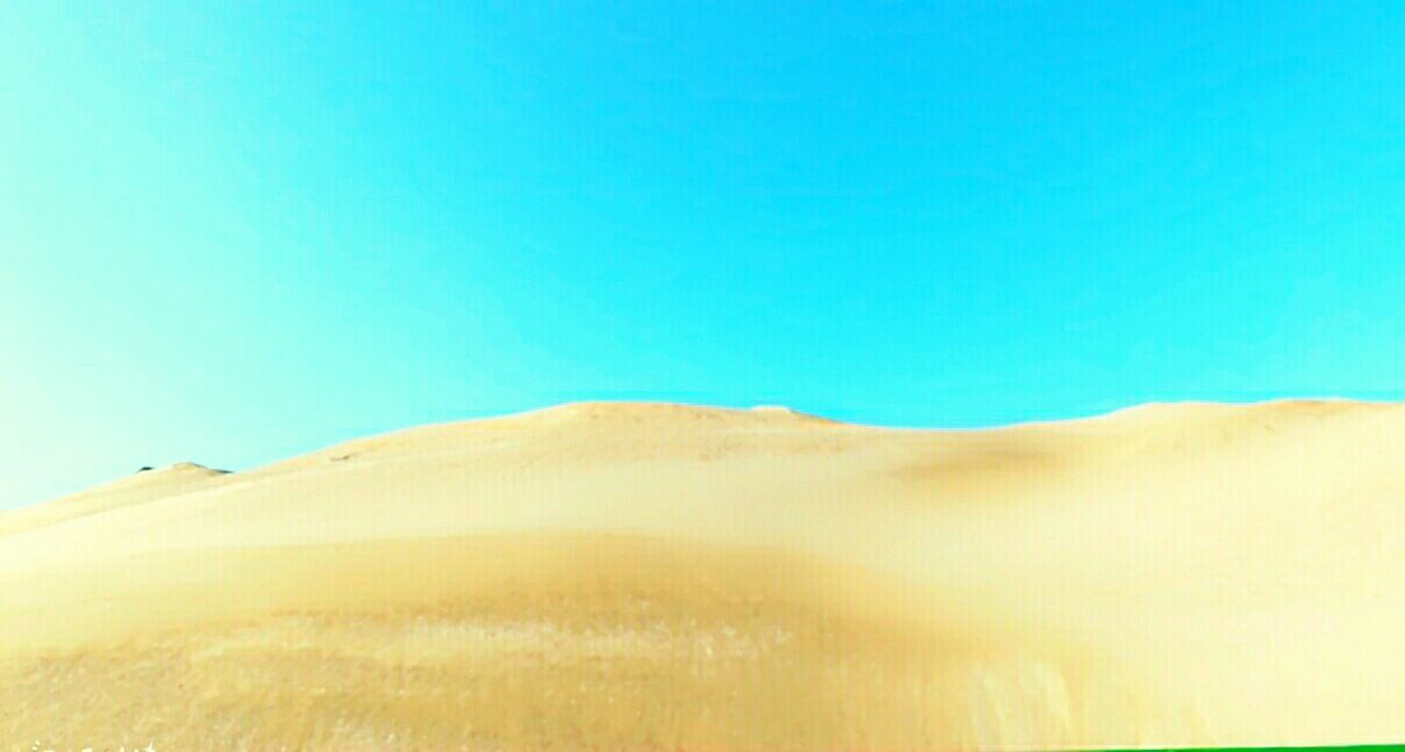 nature, no people, clear sky, day, outdoors, scenics, sand dune, landscape, sky, beauty in nature