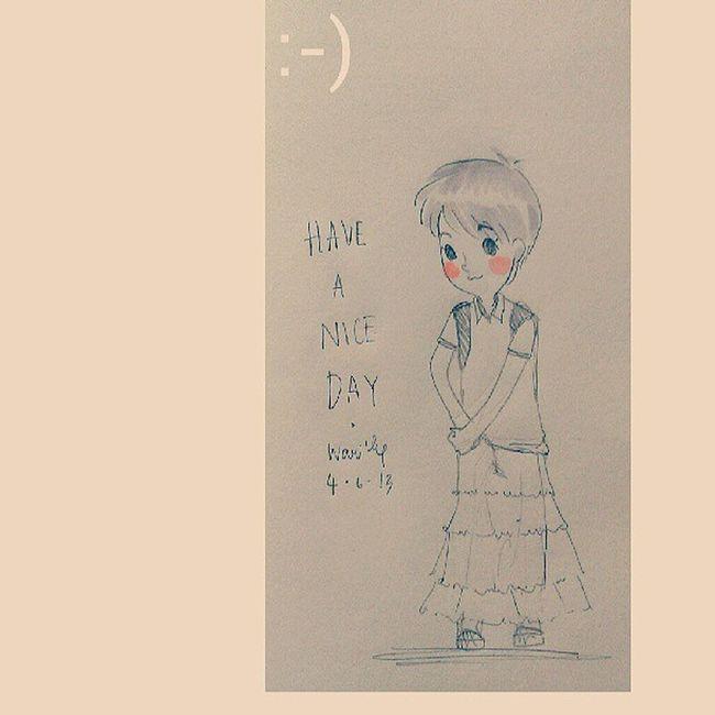 สวัสดีวันอังคาร เจอแต่เรื่องดีดีนะคะ ;) Hand Made Illus Illustation Art, Drawing, Creativity