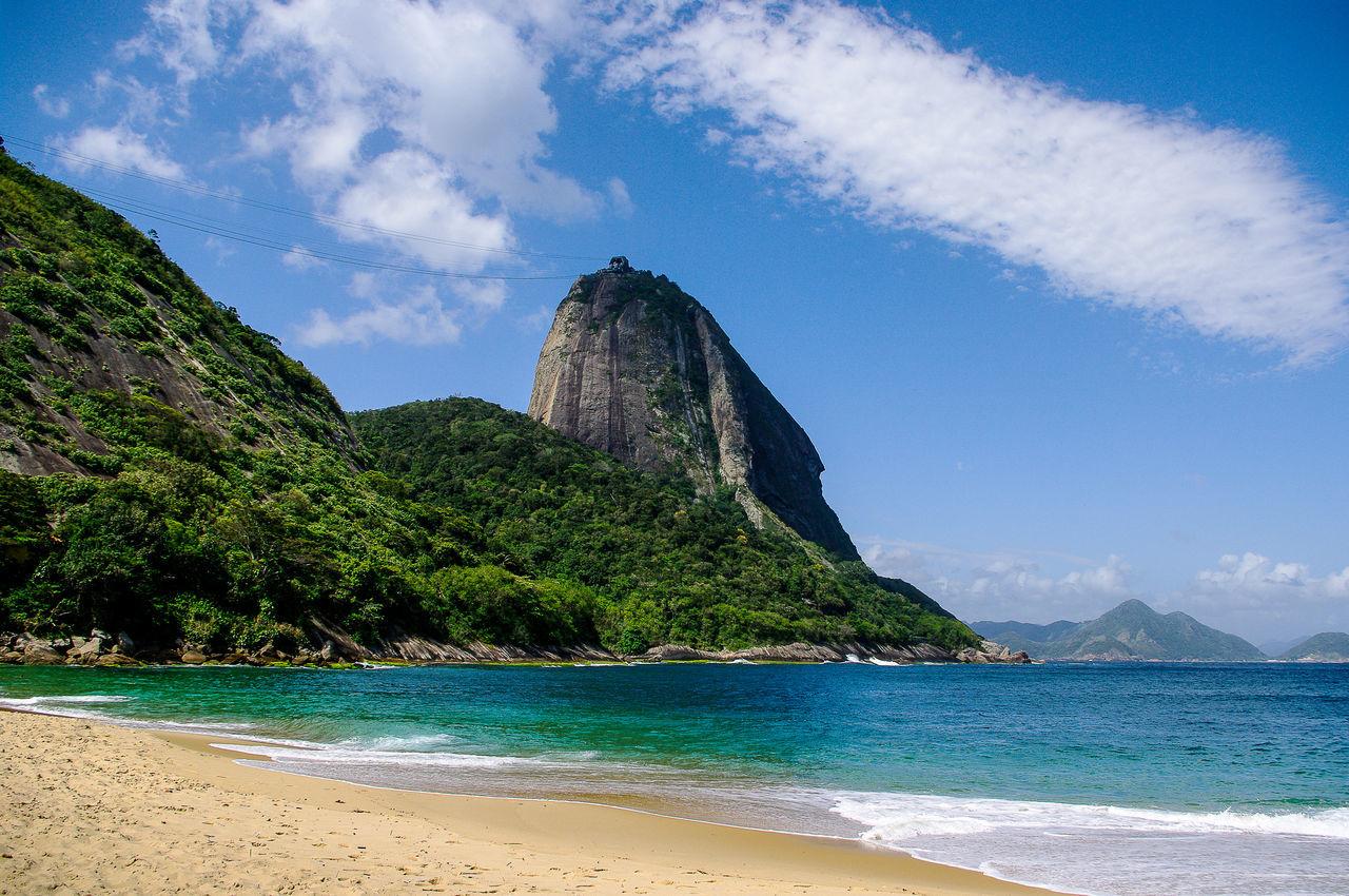 Beautiful stock photos of rio de janeiro,  Beach,  Beauty In Nature,  Brazil,  Cloud - Sky