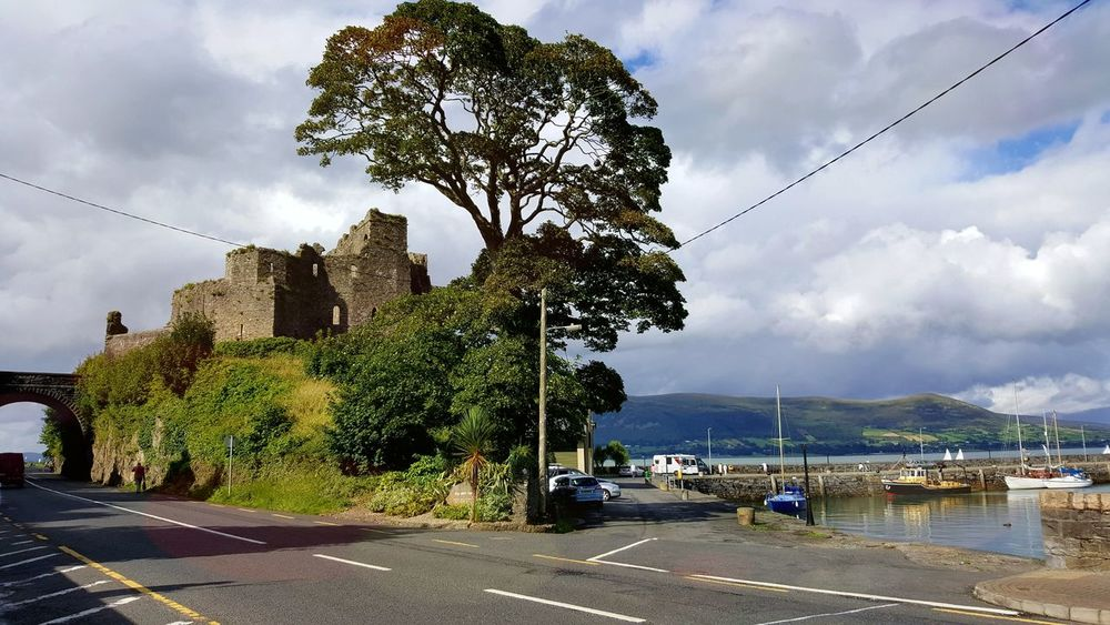 Carlingford Ruins Still Beautiful Cloud - Sky Nothern Ireland  Road Mountains