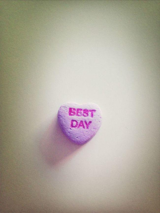 Best day. OK.