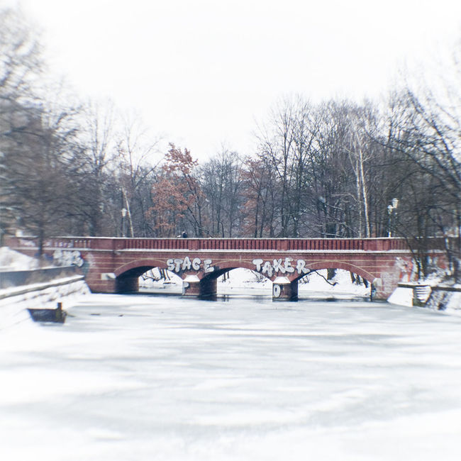 Arch Architecture Bare Tree Beauty In Nature Bridge Bridge - Man Made Structure Built Structure Clear Sky Cold Temperature Connection Day Nature Non-urban Scene Outdoors River Scenics Season  Sky Snow Snow Covered Tranquil Scene Tranquility Tree Weather Winter