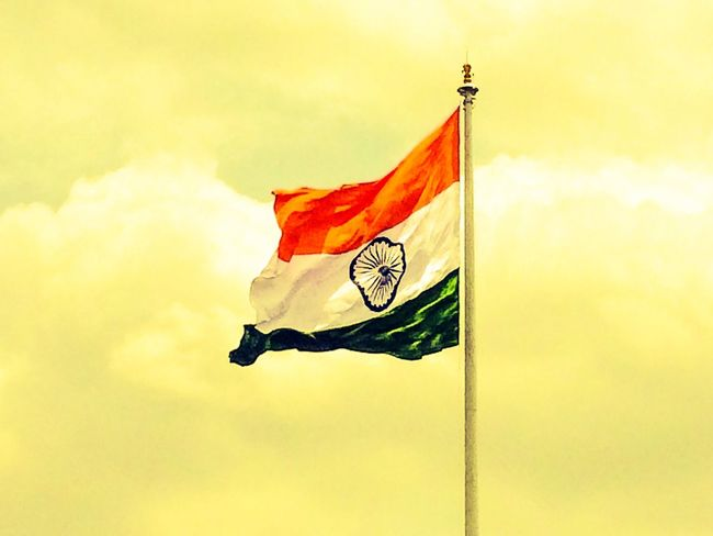 """Respect For This Never Ends....""""Wavin Flag""""... Favourite Picture National Flags Mvphotography India National Flag Indian Flag Respect For Country Goosebumps Love Beauty Awesome Click Indian INDIAN FLAG COLOURS"""