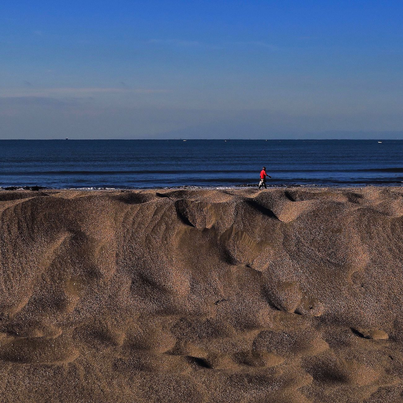 Sea Beach One Person Horizon Over Water Beachphotography