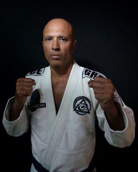 Royce Gracie Portrait Mix Martial Arts Ufcchampion Sportsman Strength