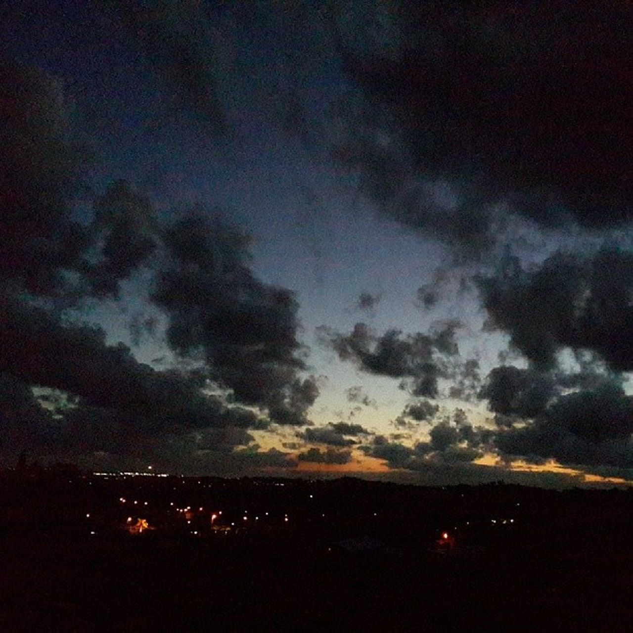sky, beauty in nature, nature, no people, dramatic sky, silhouette, cloud - sky, scenics, sunset, night, environment, tranquility, outdoors