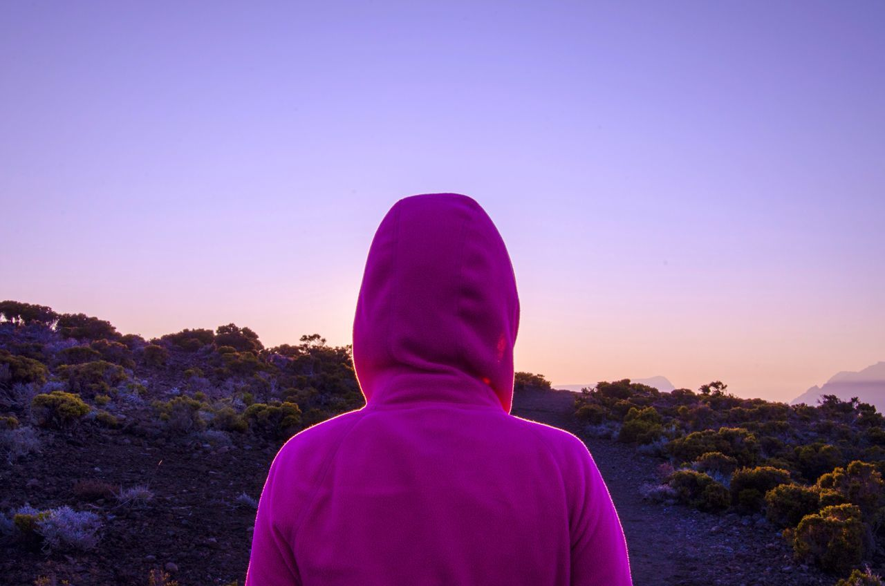 Sunset Beauty Reunion Island Sunset Hoody Magenta Outdoors Traveling Walking Hiking Piton De La Fournaise Volcano French Reunion  Sun Holiday Model Woman Backpacking Today's Hot Look Lookaway Explore First Eyeem Photo Cute Female Femme Market Bestsellers April 2016 Bestsellers TCPM