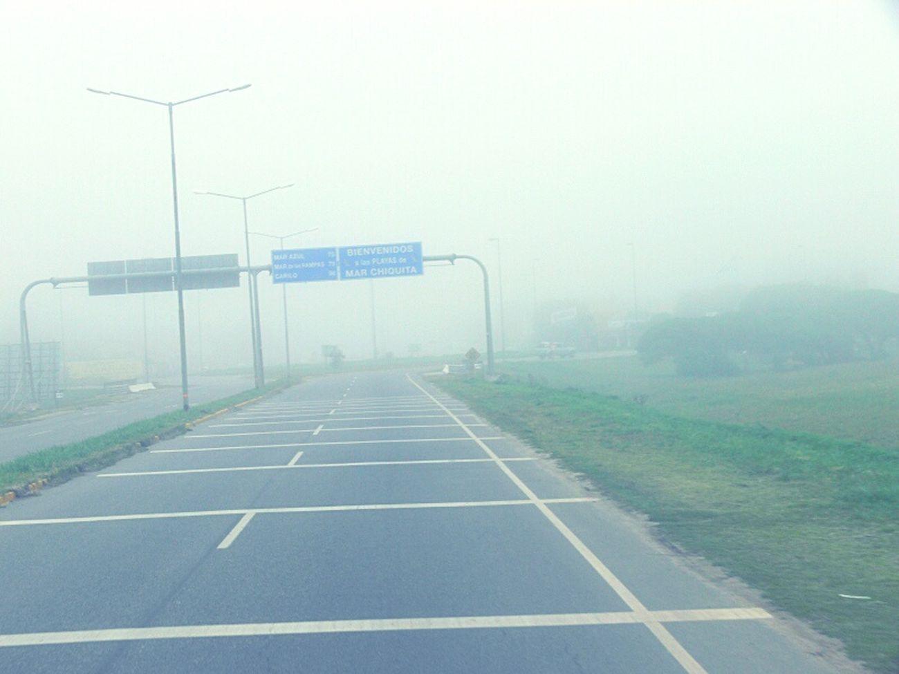 Ruta 9 Maravillosa Neblina peligro Colapso