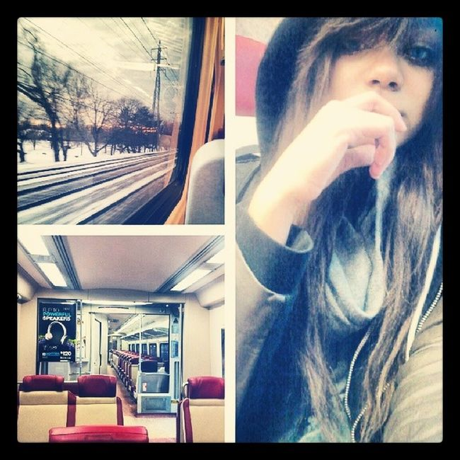 Going home. (´△`) Metronorth